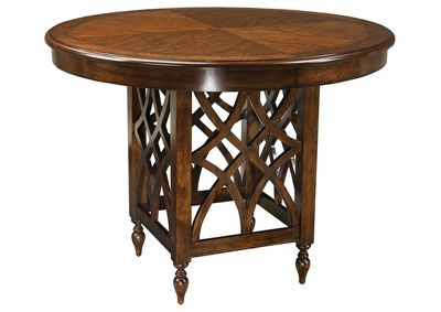 Image for Woodmont Brown Round Counter Table
