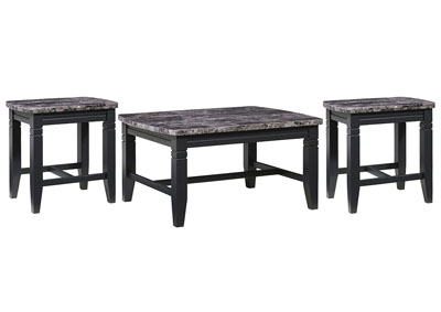 Boroughs Occasional Table (Set of 3)