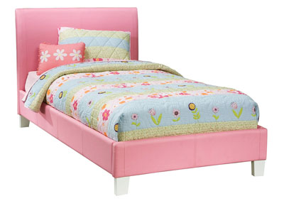 Image for Fantasia Pink Full Upholstered Bed