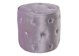 Image for Young Parisian Lavender Ottoman