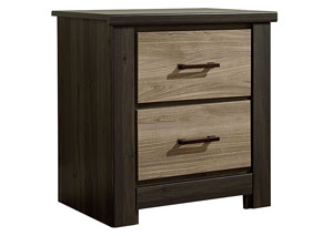Oakland 2 Drawer Nightstand