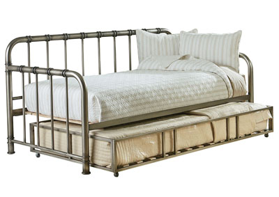 Tristen Grey Twin Daybed w/Trundle