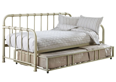 Tristen White Twin Daybed w/Trundle