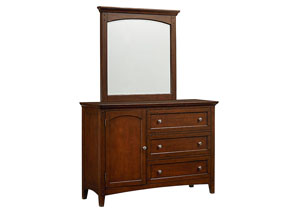 Cooperstown Spiced Cherry Youth Dresser/Chesser