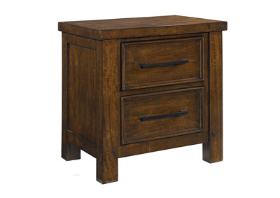 Cameron Youth Brown Nightstand
