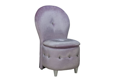 Image for Sit N' Store Lavender Storage Stool