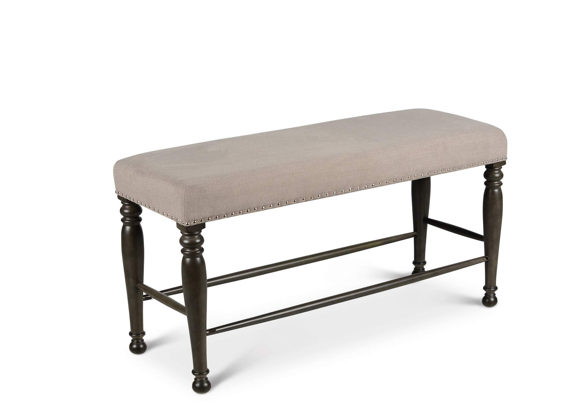Caswell Grey Counter Bench,Steve Silver