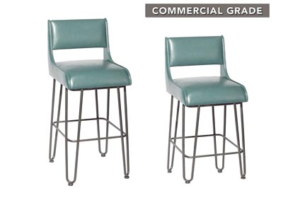 Image for Dillon Teal Counter Stool [2/ctn]