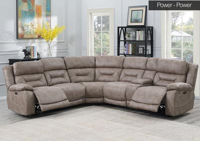 Image for Aria Desert Sand 3 Piece Sectional Sofa