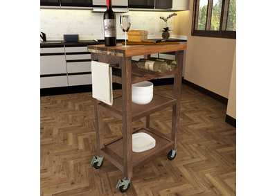 Image for Belden Brown Kitchen Cart