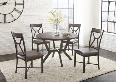 Image for Alamo Grey Round Dining Table