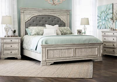 Image for Highland Park Avenue Cathedral White Panel Queen Bed