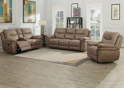 Image for Isabella Sand Recliner Sofa