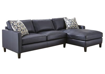 Image for Alder Black Sectional Chaise & Loveseat