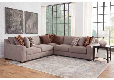 Image for Allendale Tan Three Piece Sectional