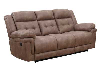 Image for Anastasia Cocoa Recliner Sofa
