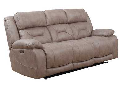Image for Aria Desert Sand Power-2 Recliner Sofa