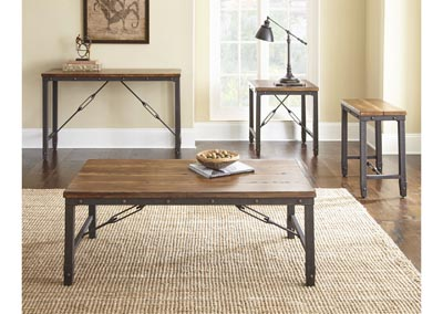 Image for Ashford Brown Cocktail Table