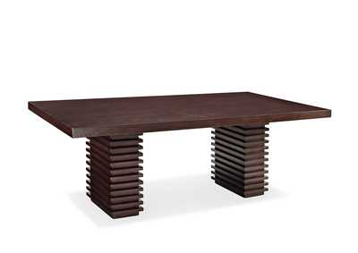 Image for Briana Dark Brown Dining Table