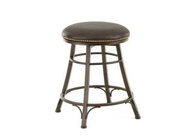 Image for Bali Brown Swivel Counter Stools [Set of 2]