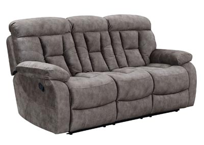 Image for Bogata Grey Recliner Sofa