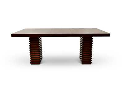 Image for Briana Brown Rectangular Dining Table
