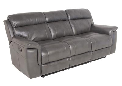 Image for Dakota Grey Recliner Sofa Gray