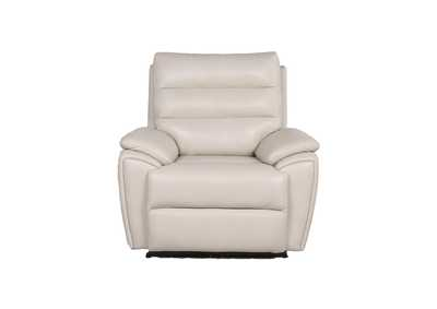 Image for Duval Ivory Power-2 Recliner Ivory