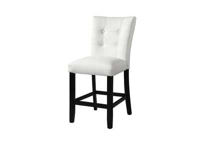 Image for Markina White PU Counter Dining Chair [2/Ctn]