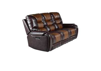 Image for Park Avenue Brown Power-3 Sofa