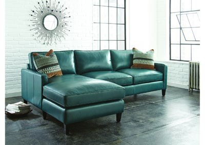 Image for St. Croix Grey Left Arm Chaise