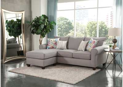 Image for Yorke Grey Sofa w/ Chaise