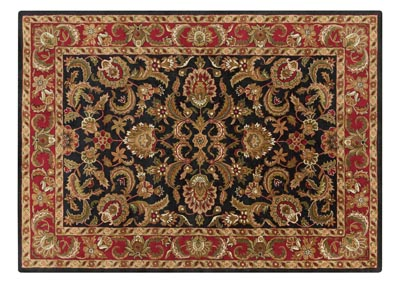 Image for Ancient Treasures Black Area Rug