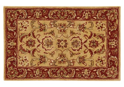 Image for Ancient Treasures Green Area Rug