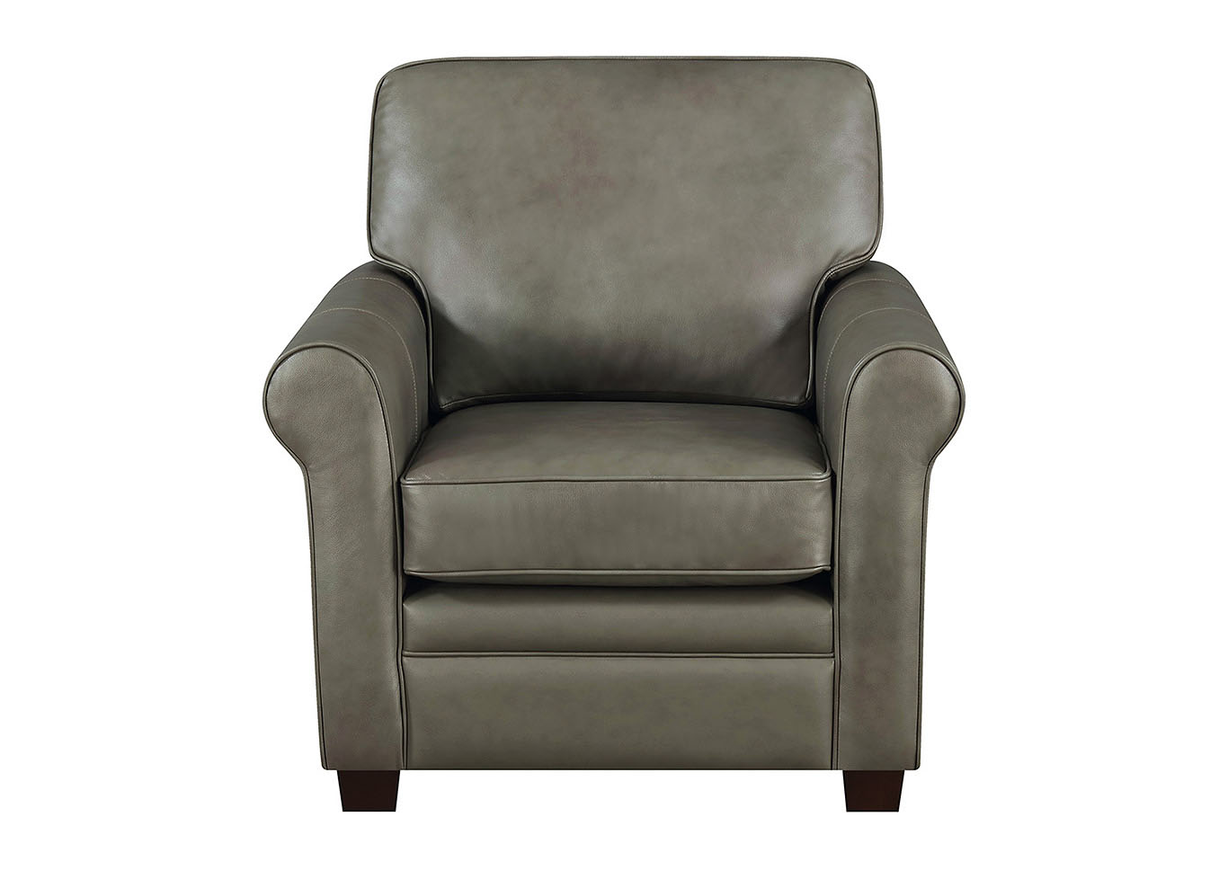Wondrous Taba Home Furnishings April Gray Leather Match Stationary 4 Machost Co Dining Chair Design Ideas Machostcouk