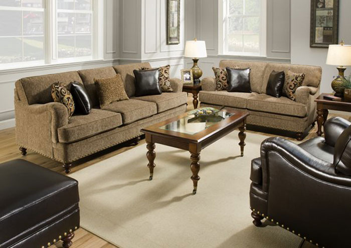 TINGA MORENO OTTOMAN,United Furniture
