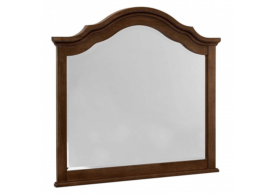 French Market French Cherry Arched Mirror,Vaughan-Bassett