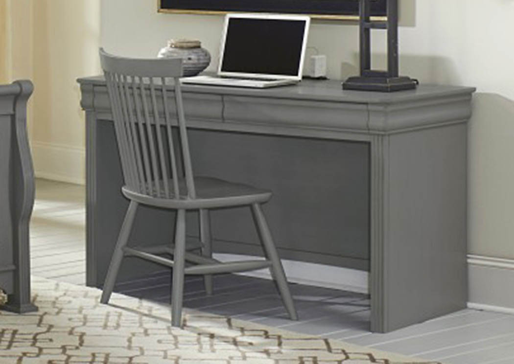 French Market Zinc Desk Chair,Vaughan-Bassett