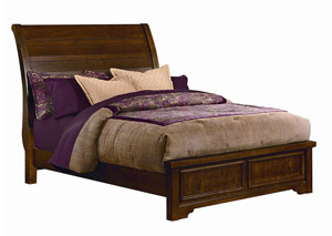 Hanover Cherry Full Low Profile Bed