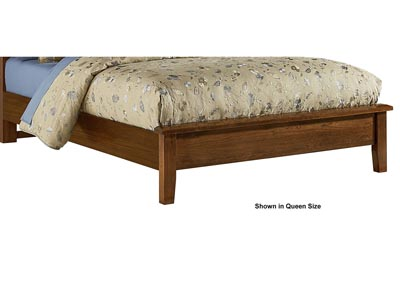 Artisan Choices Brown Derby Low Profile Footboard 3/3