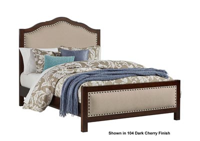 Artisan Choices Napa Upholstery Queen Bed  w/Upholistery Footboard