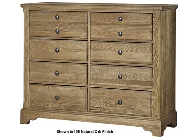 Artisan Choices Domino Villa Media Dresser - 8 Drawer