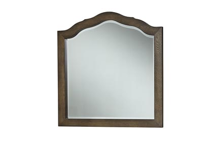 Artisan Choices Dark Oak Loft Tall Arched Mirror