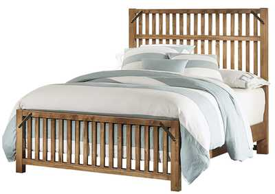 Sedgwick Slat King Bed  w/Slat Footboard