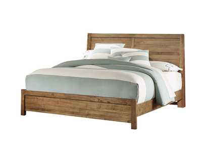 Sedgwick Plank King Bed  w/Low Profile Footboard