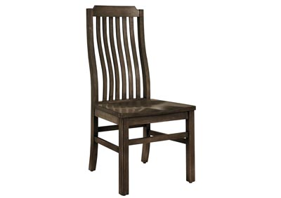 Image for Simply Dining Dark Maple Vertical Slat Side Chair