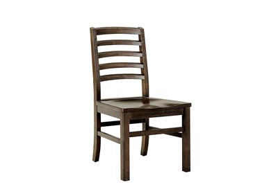 Image for Simply Dining Dark Maple Horizontal Slat Side Chair