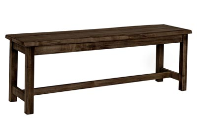 "Image for Simply Dining 52"" Bench Live Edge Top"