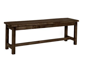 "Image for Simply Dining Black Marlin 68"" Bench Live Edge Top"