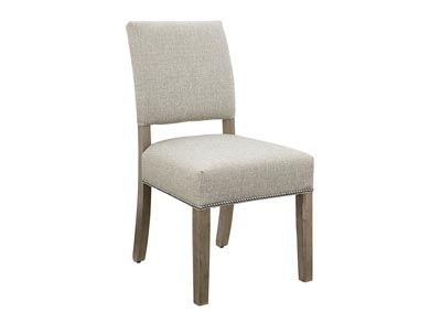 Image for Simply Dining Tide Upholstery Side Chair/Grey